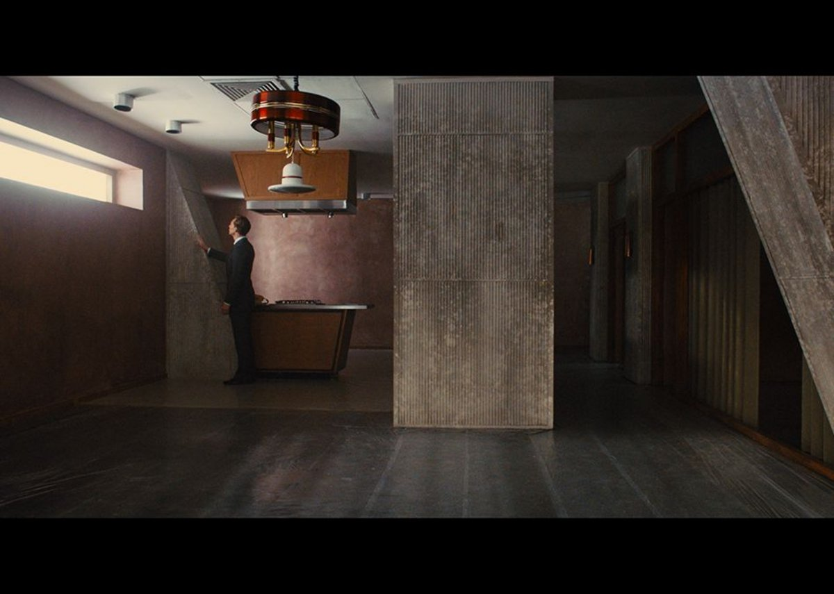 Raw concrete meets 1970s kitsch in High Rise.