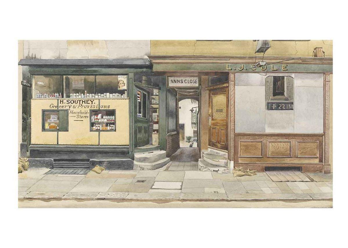 Phyllis Dimond, Kinnerton Street, Wilton Place, London, SW1, 1942. Given by the Pilgrim Trust