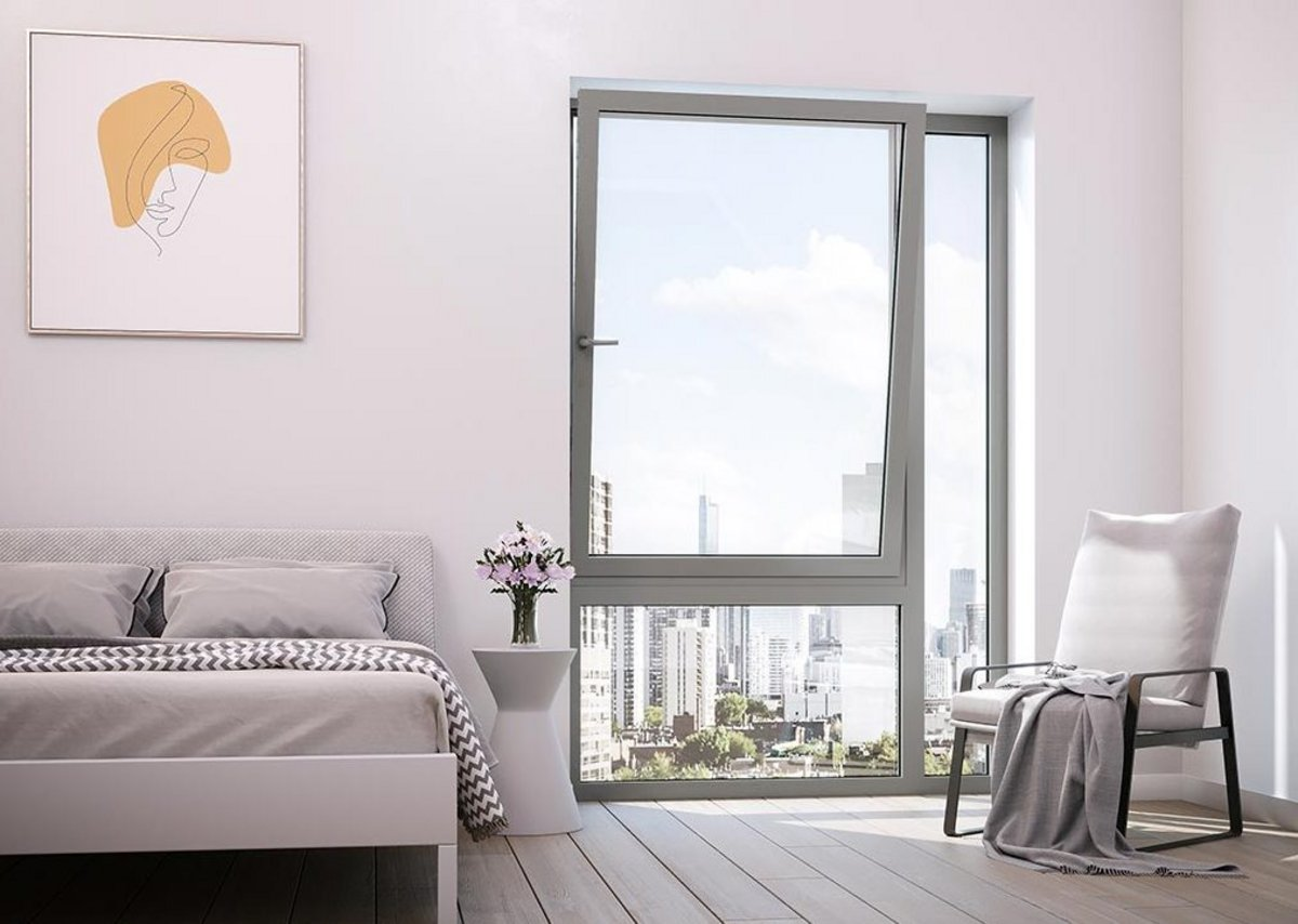 C70S windows offer up to 50mm acoustic glazing capacity for city-centre projects.