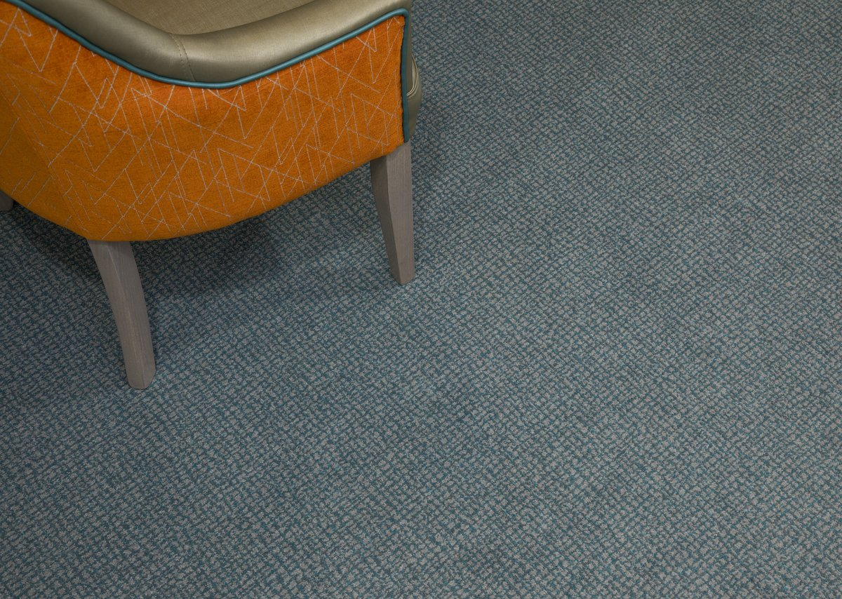 Equinox Evolve specialist carpet at Country Court Lake View Lodge care home, Bletchley, Buckinghamshire.