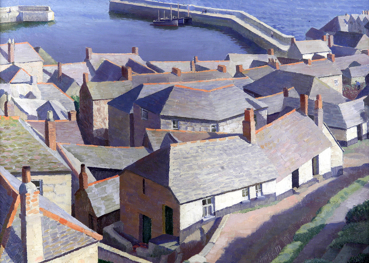 Early morning, Newlyn by Dod Procter.