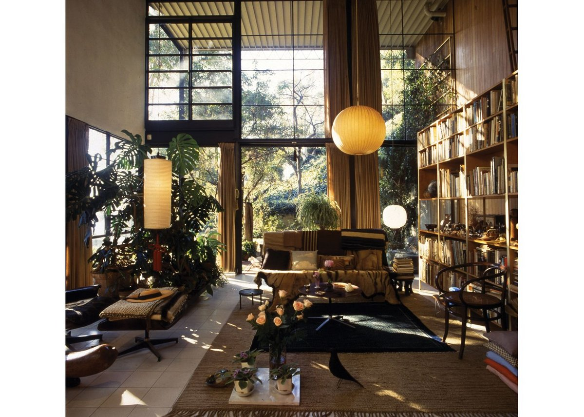 Eames House Living Room. Photo Antonia Mulas.