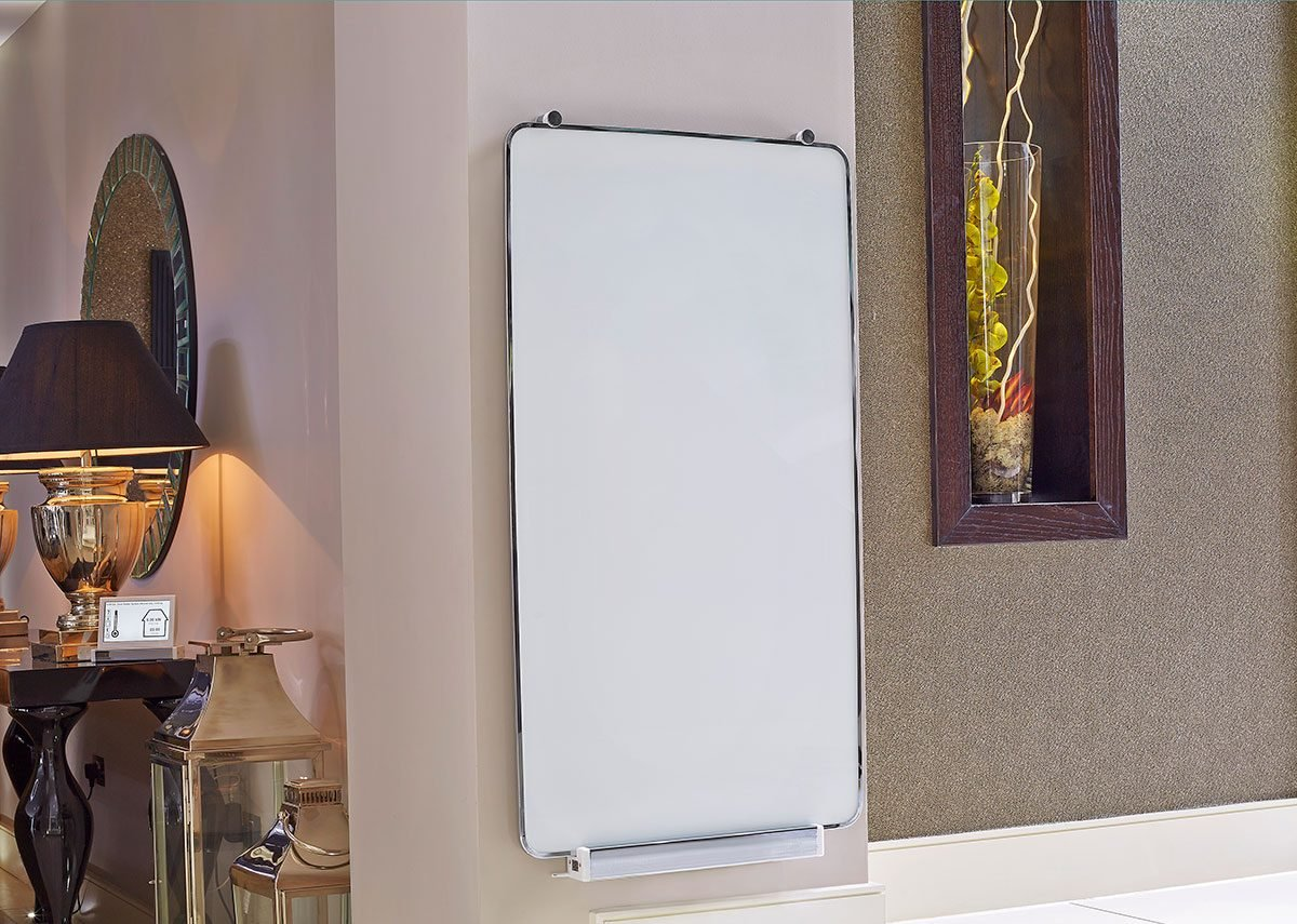 Infrared heating panels use pulsed electricity and infrared heat to minimise energy.