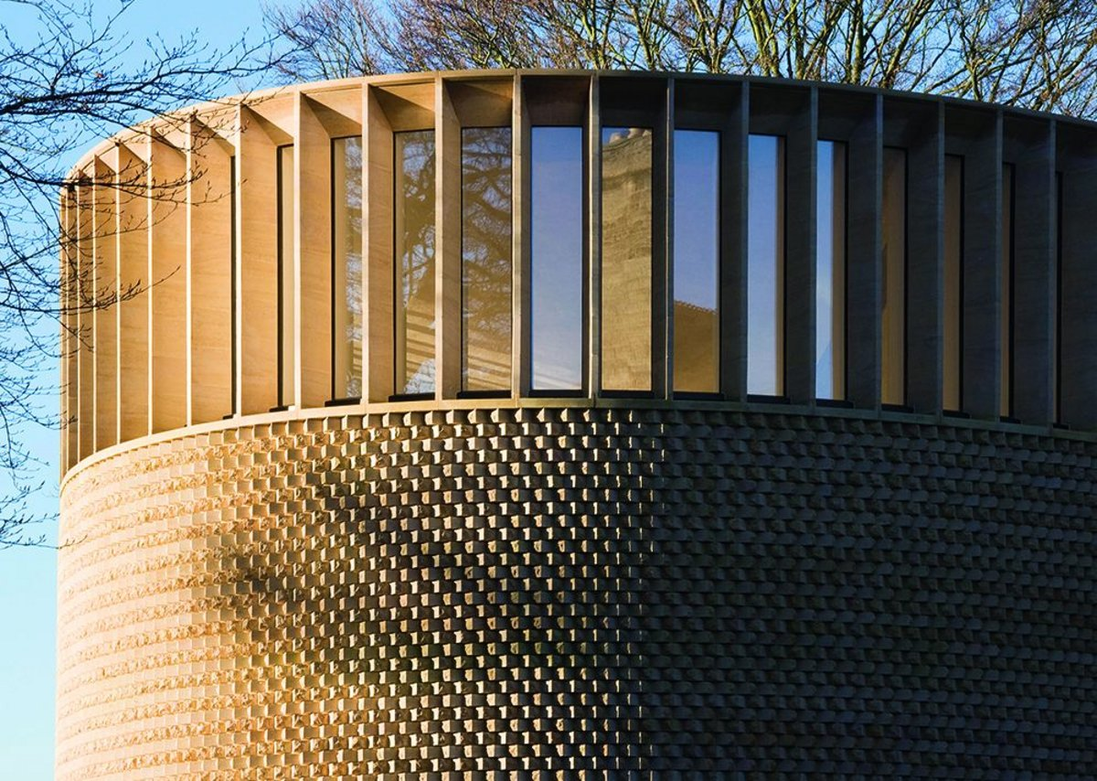 Bishop Edward King Chapel, Cuddesdon, Oxfordshire by Níall McLaughlin Architects for Ripon College and Community of St John the Baptist.