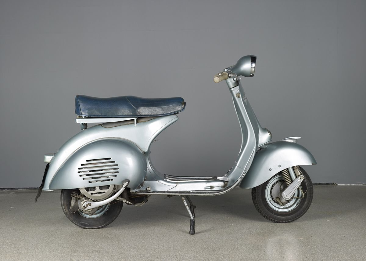 You will not have to pay to see this Vespa in the permanent collection.
