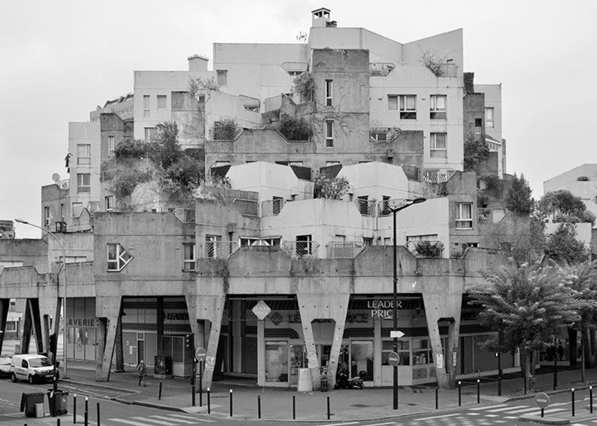 'Les Etoiles' at Ivry-sur-Seine, designed by Jean Renaudie, Renee Gailhoustet, 1970-72.