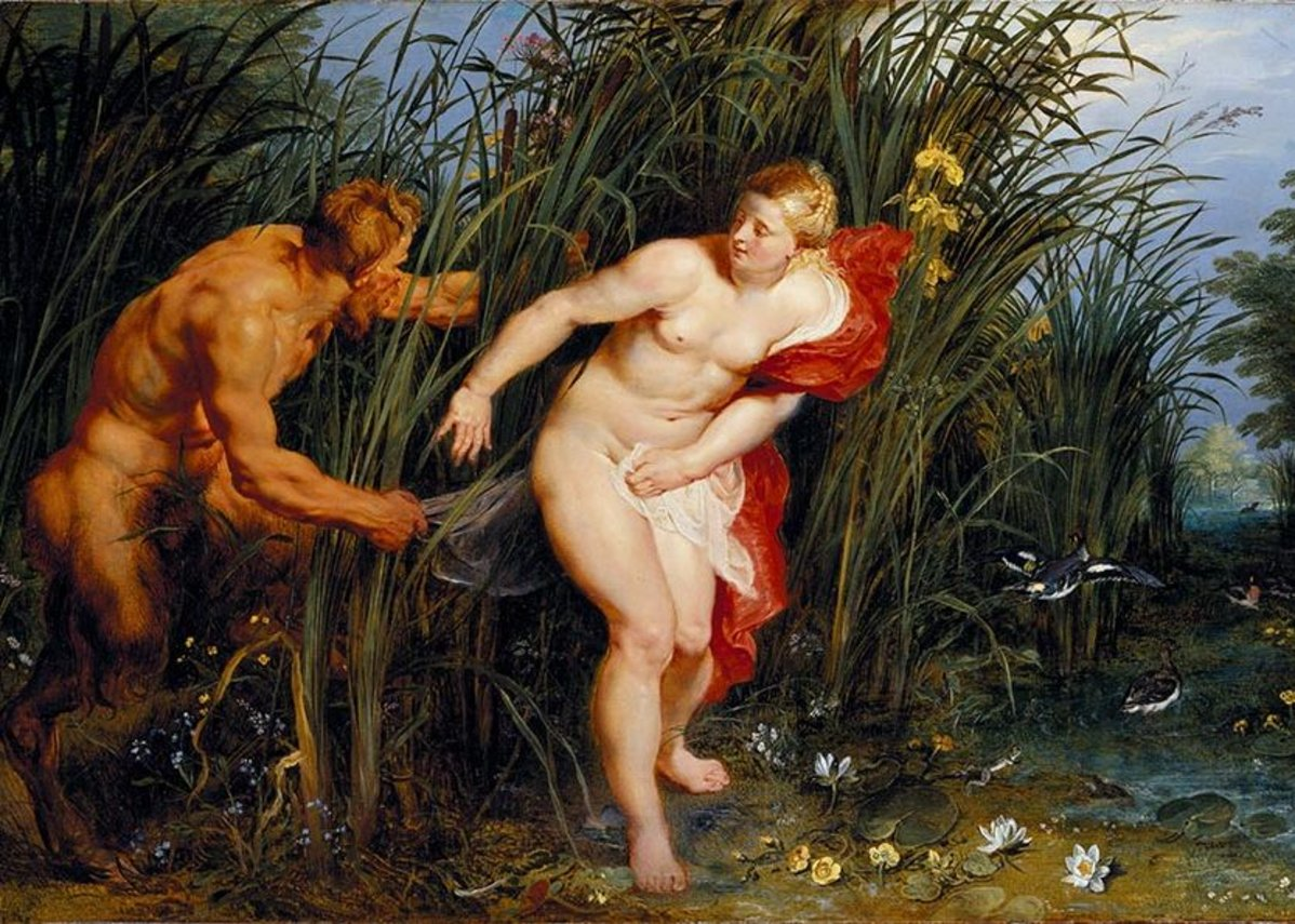 Peter Paul Rubens, Pan and Syrinx, 1617.