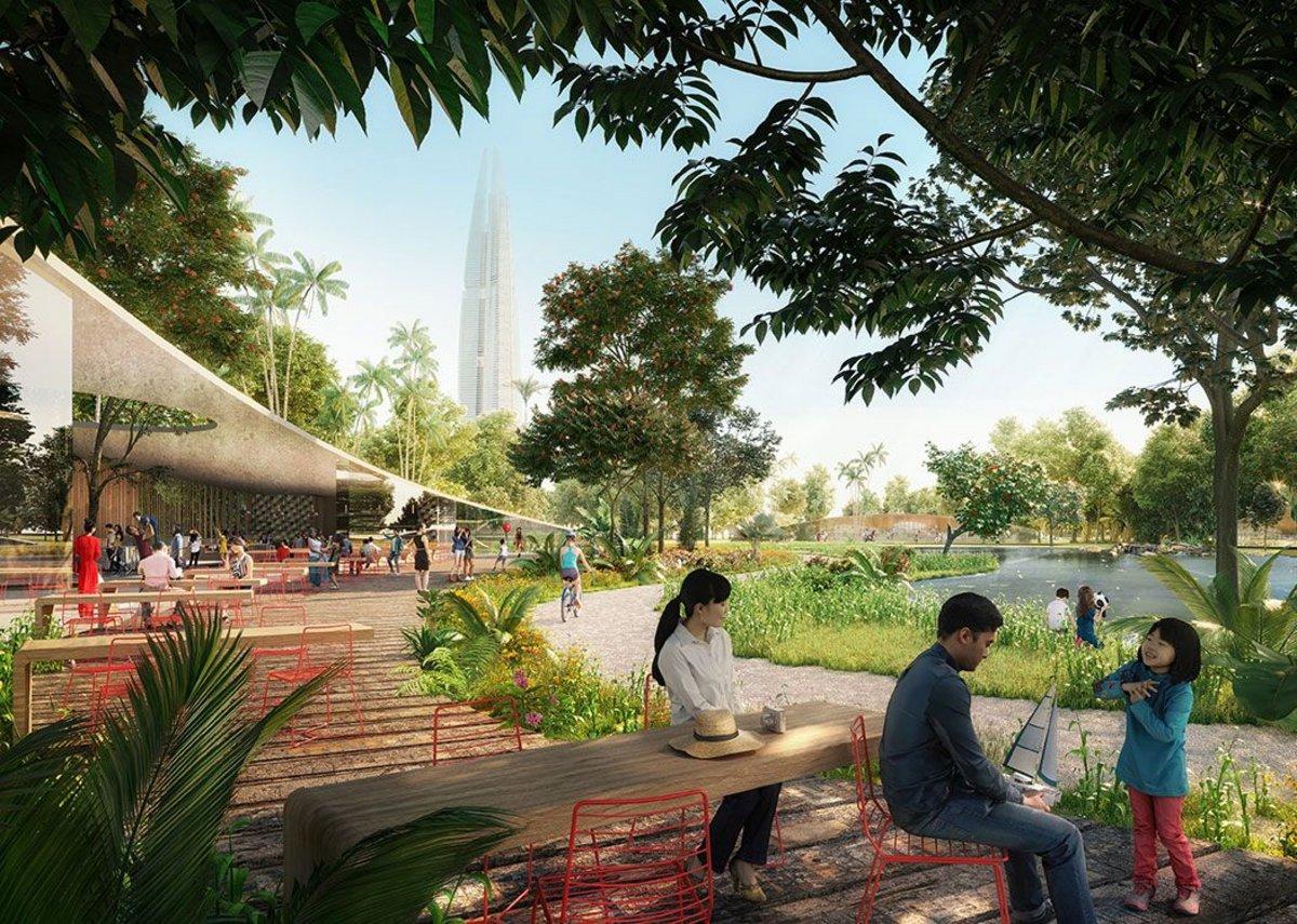 The Eco Resort is a 250ha tourist destination.