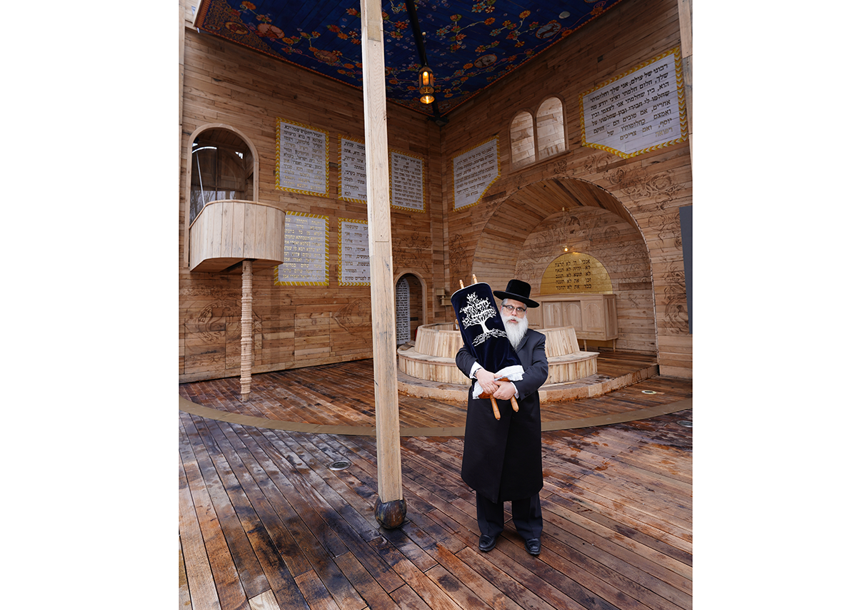 The Babyn Yar synagogue restores a living Jewish presence to the site, and is the first structure to be completed in the 150ha memorial complex.