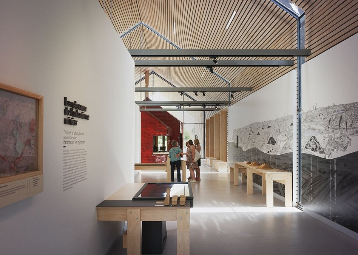 Inside the Interpretation Centre, which is a gateway to the region for visitors and provides explanation to locals.