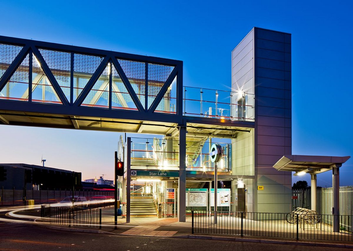 DLR Stratford International Extension.