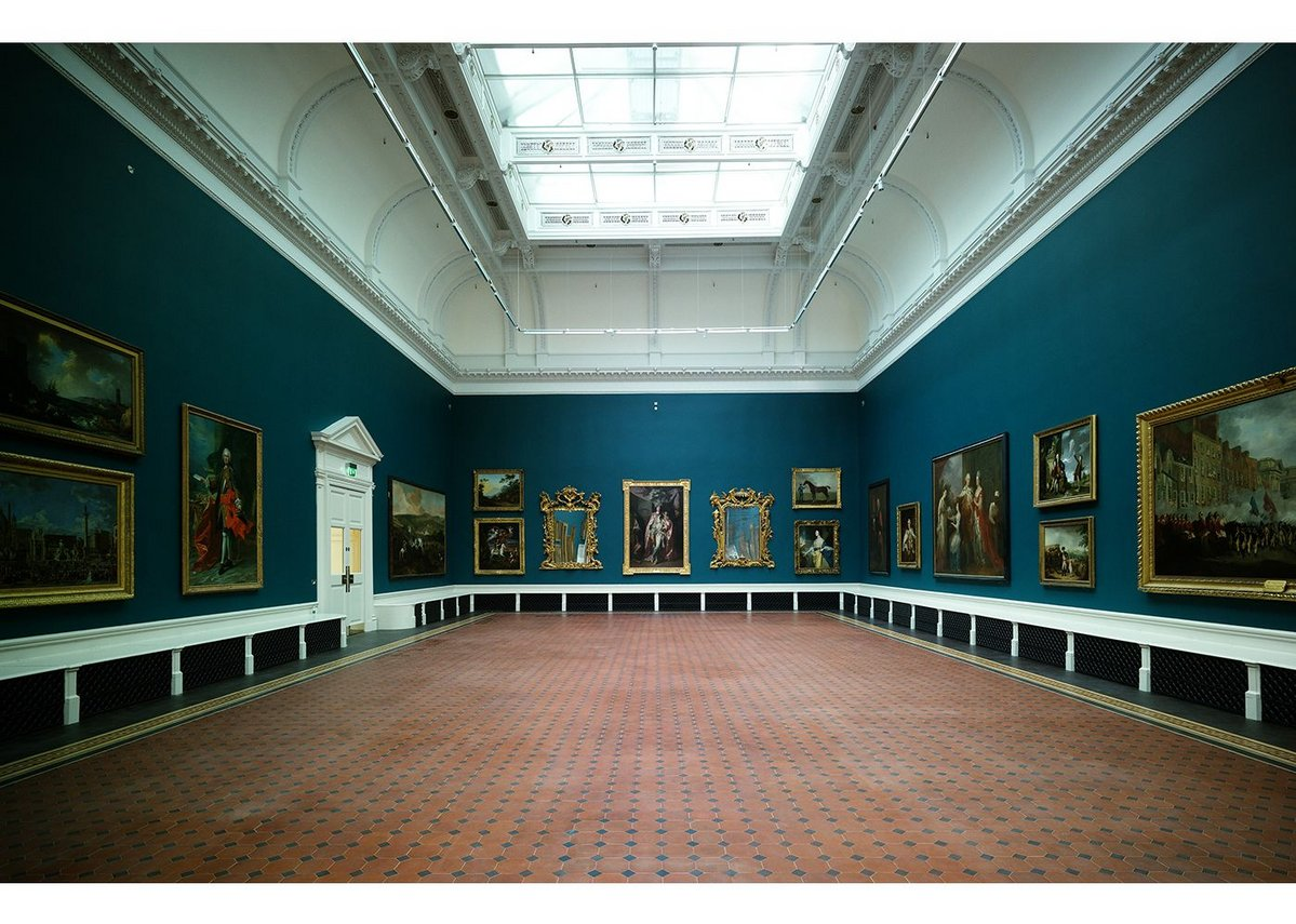 Grand Gallery, looking east.