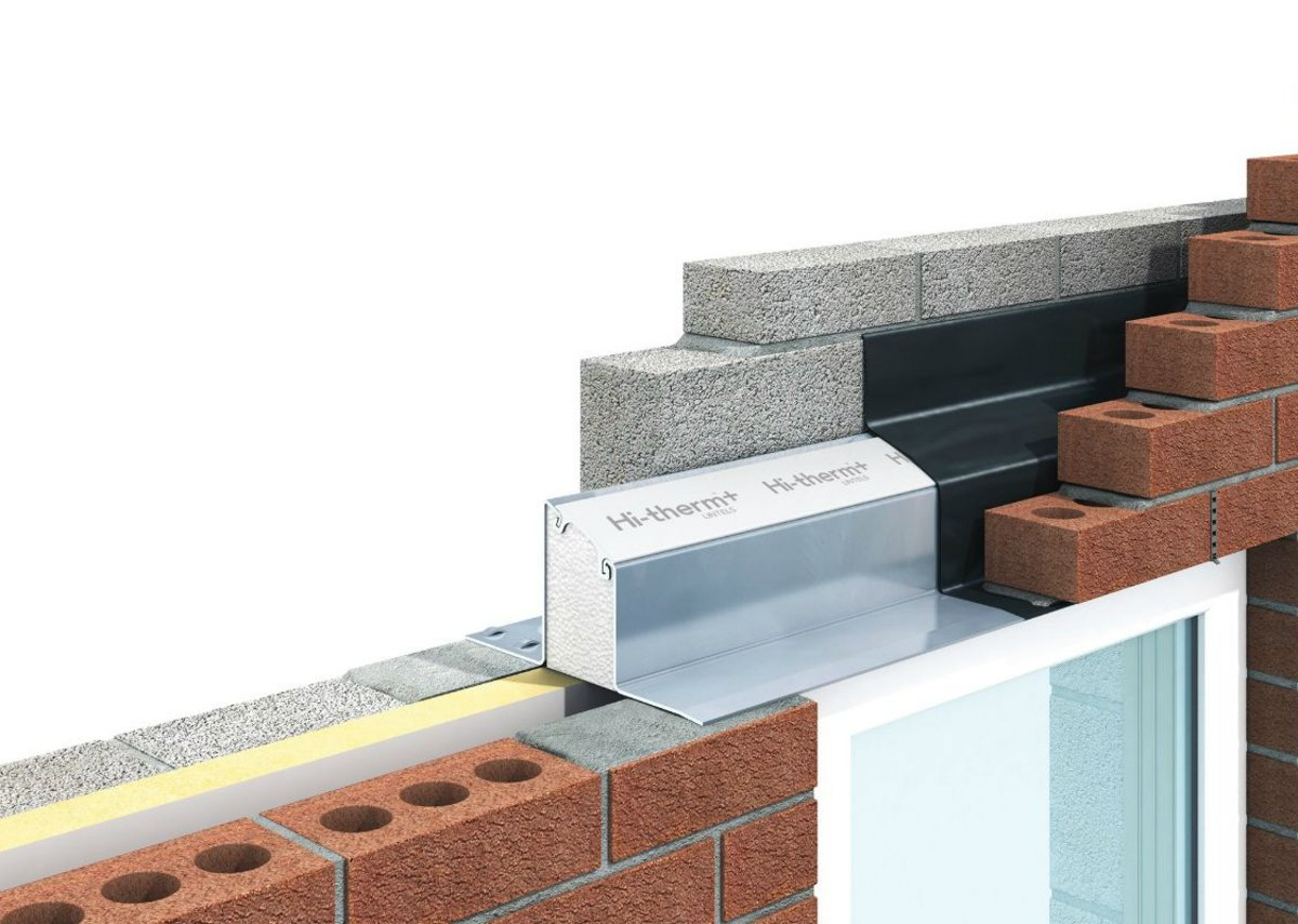 IG's Hi-therm+ lintel is up to five times more thermally efficient than a standard steel version.