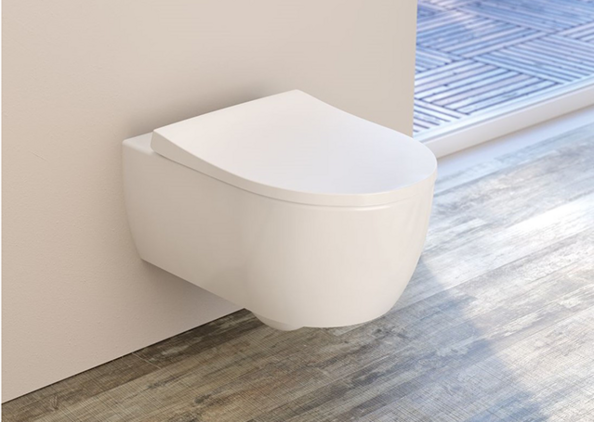 Geberit Duofix frames help architects and designers create streamlined bathrooms.