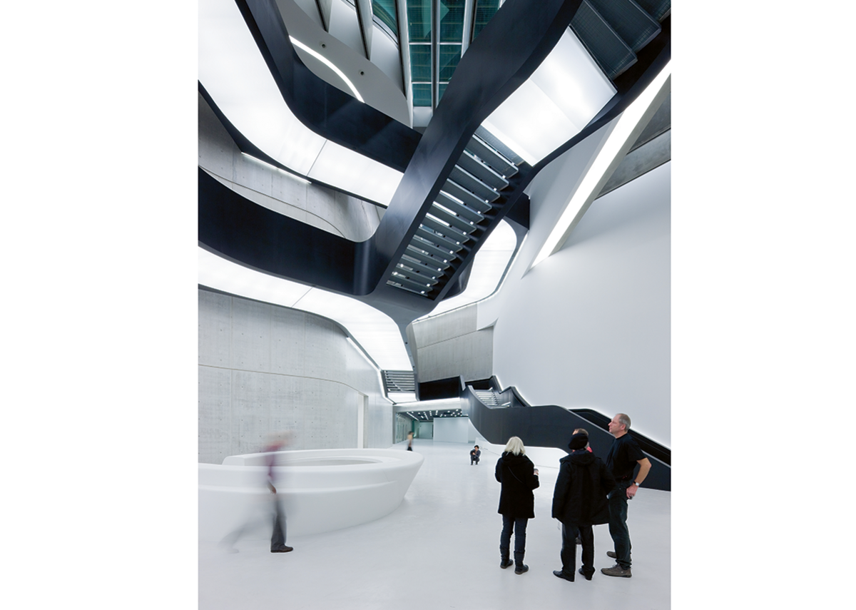 The last good Zaha before it all went too parametric:' the Stirling Prize winning MAXXI (2010) in Rome.