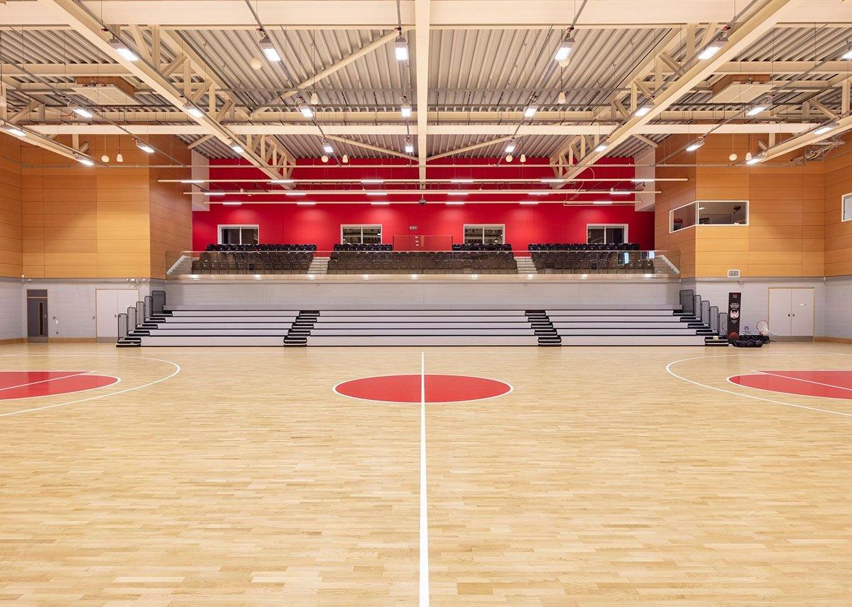 Solent Sports Complex, Southampton.