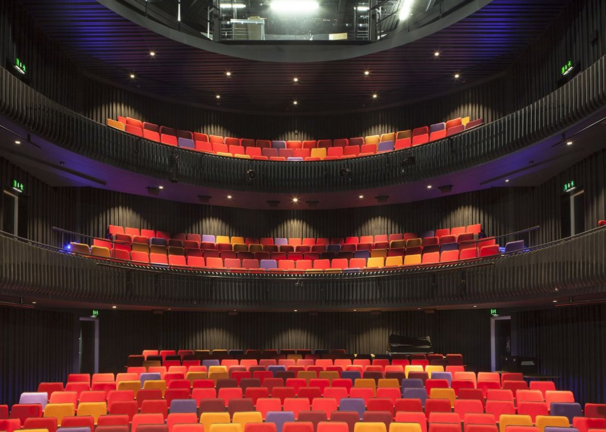 Theatre auditorium.