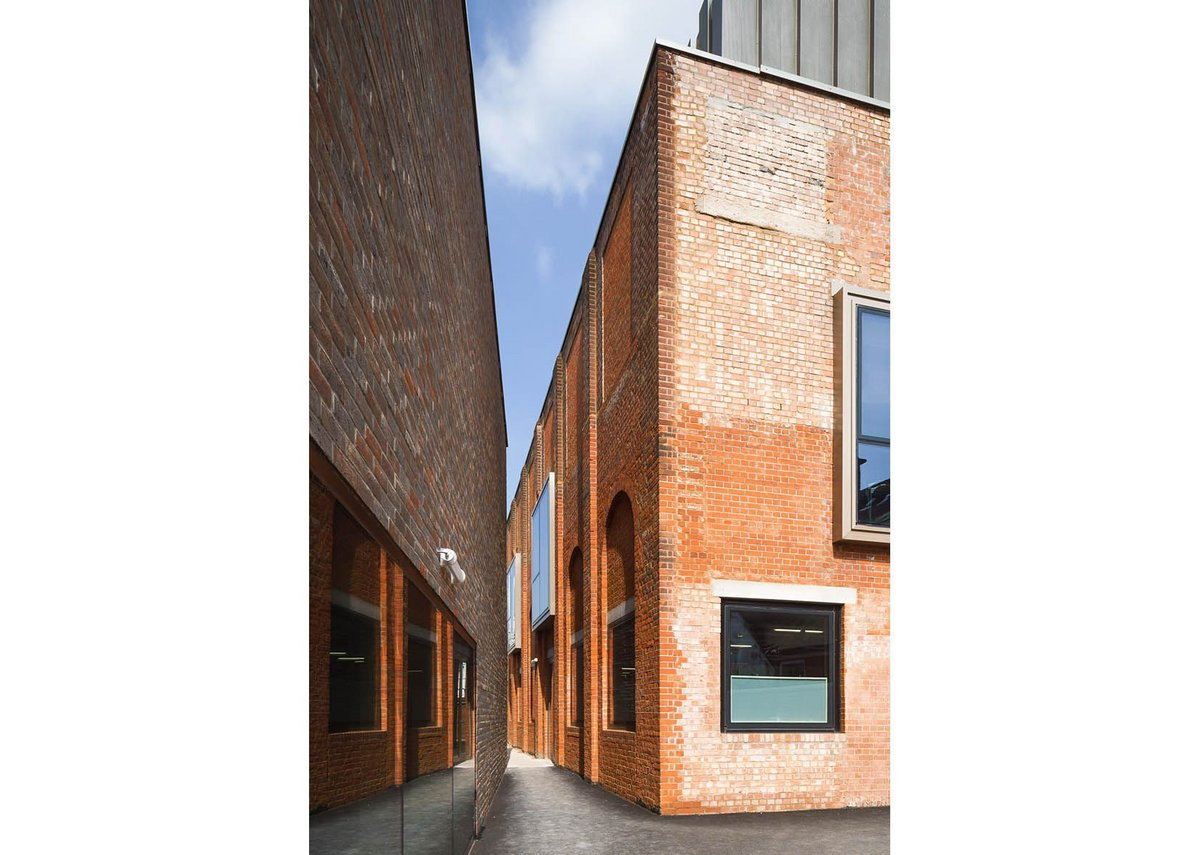 BEST PUBLIC & EDUCATION BUILDING and BEST REFURBISHMENT PROJECT: Richmond Adult Community College, London by Duggan Morris Architects