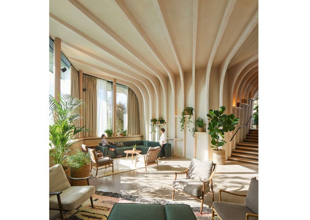 The spatial quality feels almost proto-modern; like Victor Horta's Art Nouveau.