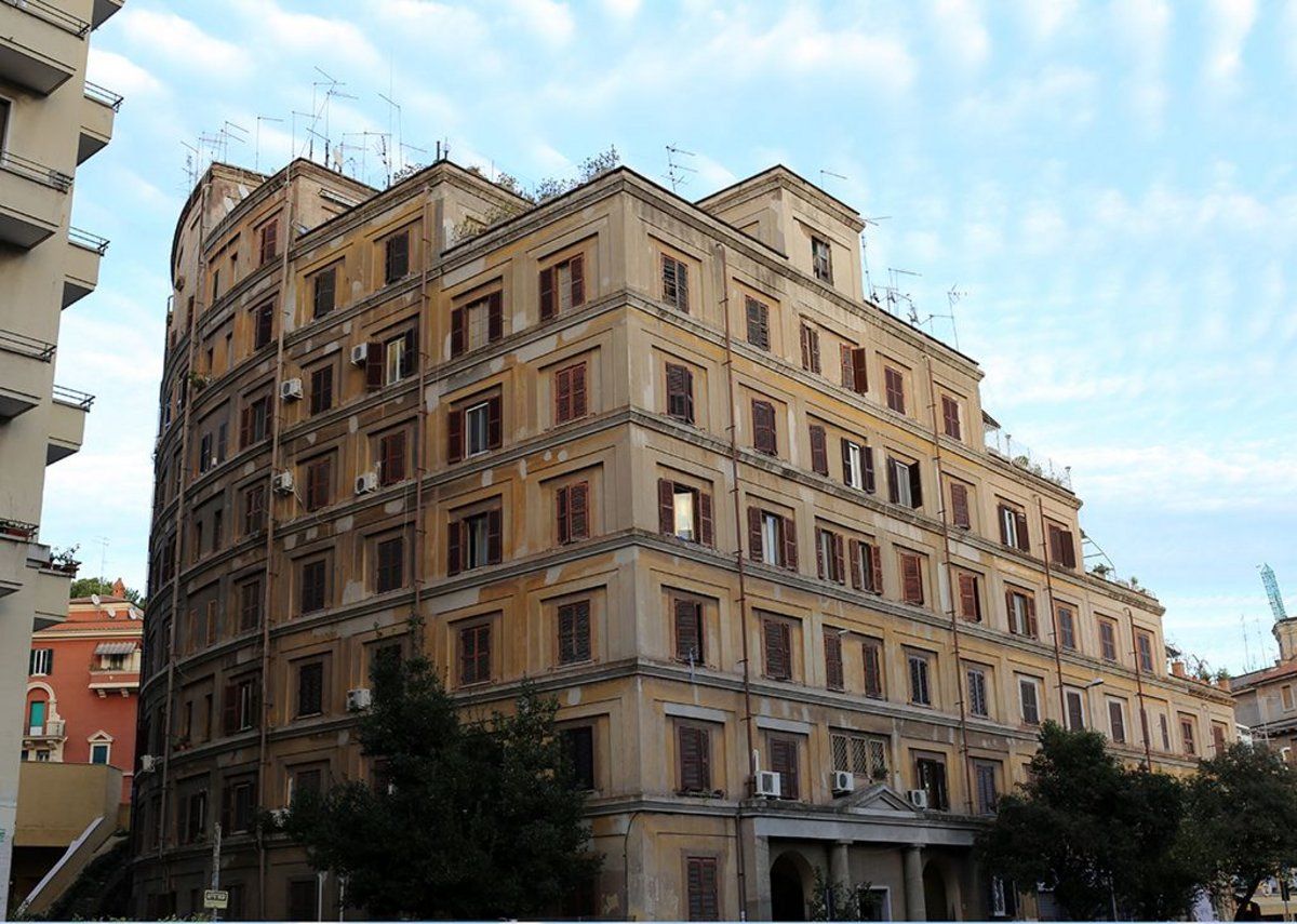 St Ippolito II (Casa del Sole), Tiburtino, 1929-30