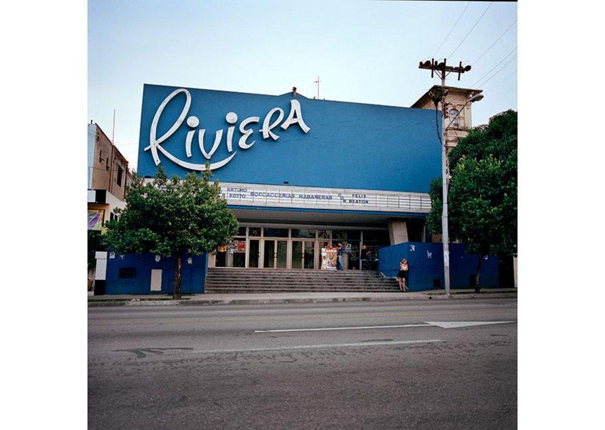 Cine Riviera, Havana.