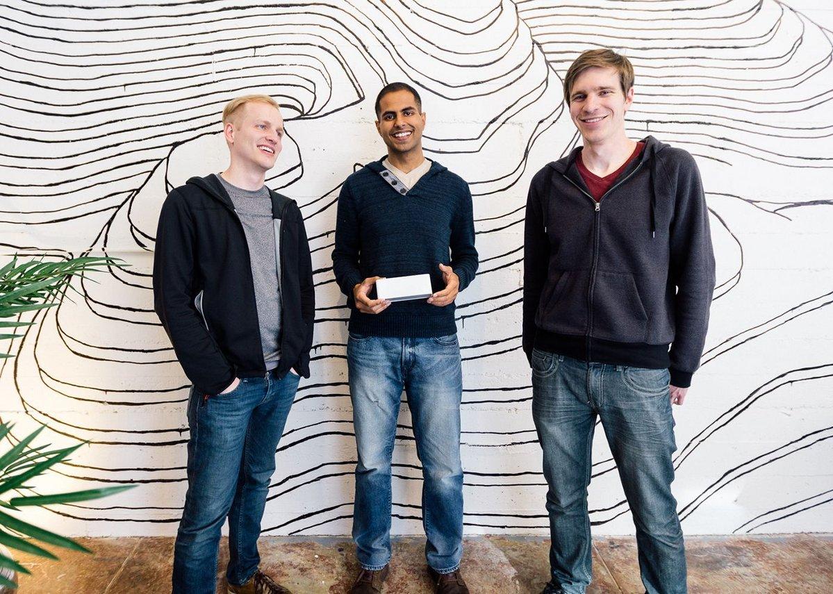 Lightform, from left: Brett Jones, Raj Sodhi and Kevin Karsch.