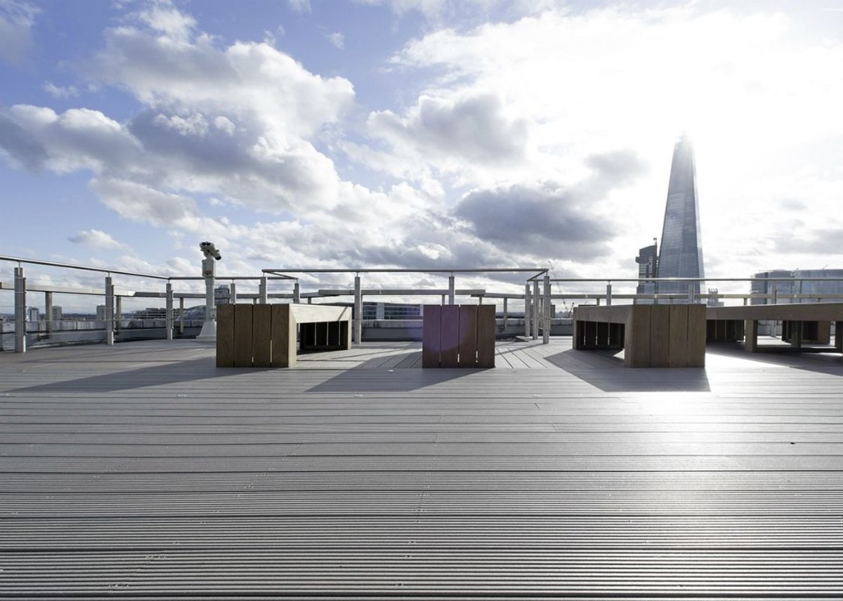 Exhibitor Ecodek manufactures decking from a specifically developed and innovative wood plastic composite - 95 per cent of the raw materials are recycled or sustainably sourced.
