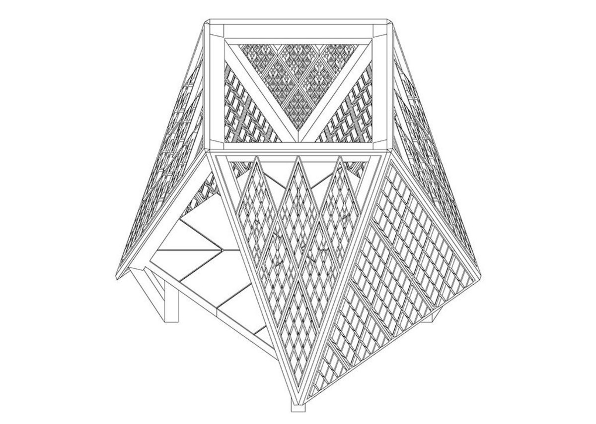 Axonometric of Faience by Fettle Studio.