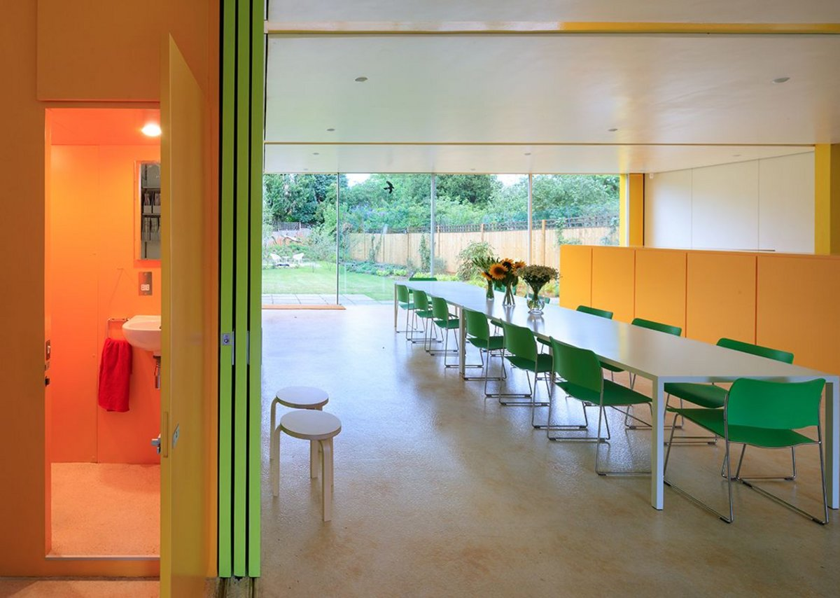 Richard Rogers's Wimbledon House. Photograph by Iwan Baan.
