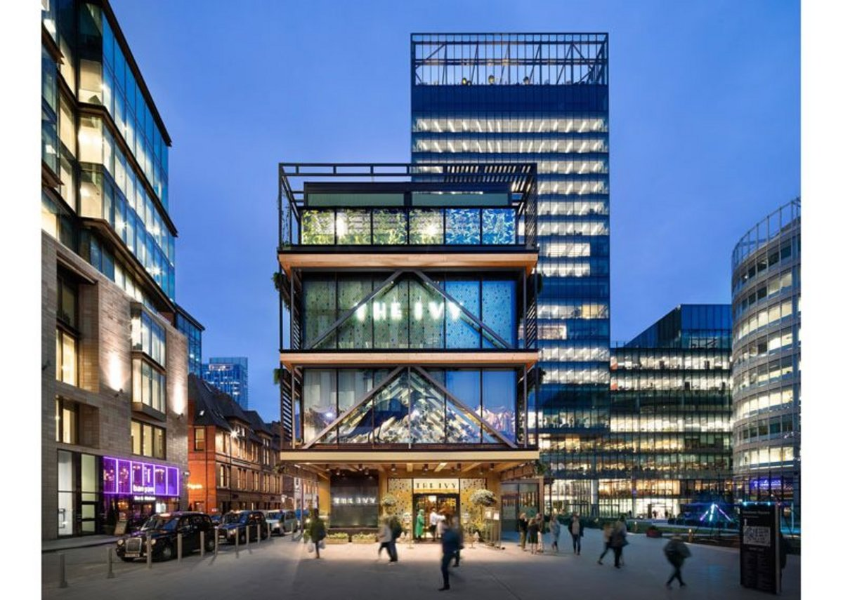 Hardman Square Pavilion, Manchester