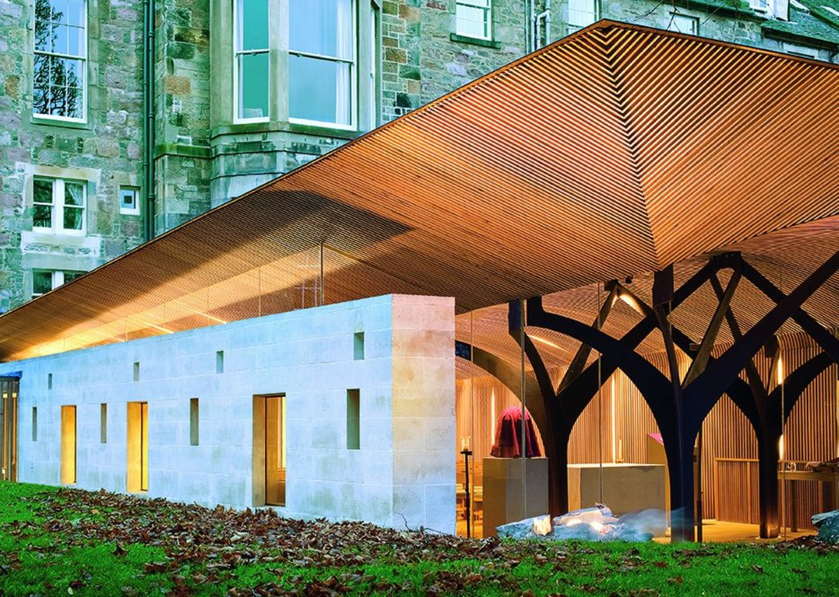 The Chapel of Saint Albert the Great, George Square, Edinburgh by Simpson & Brown Architects for The Order of Preachers.