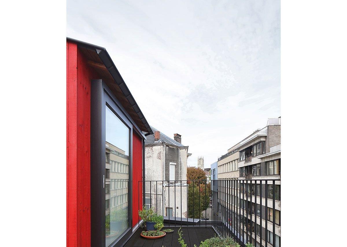 IRO external cladding, Poppy, house extension.