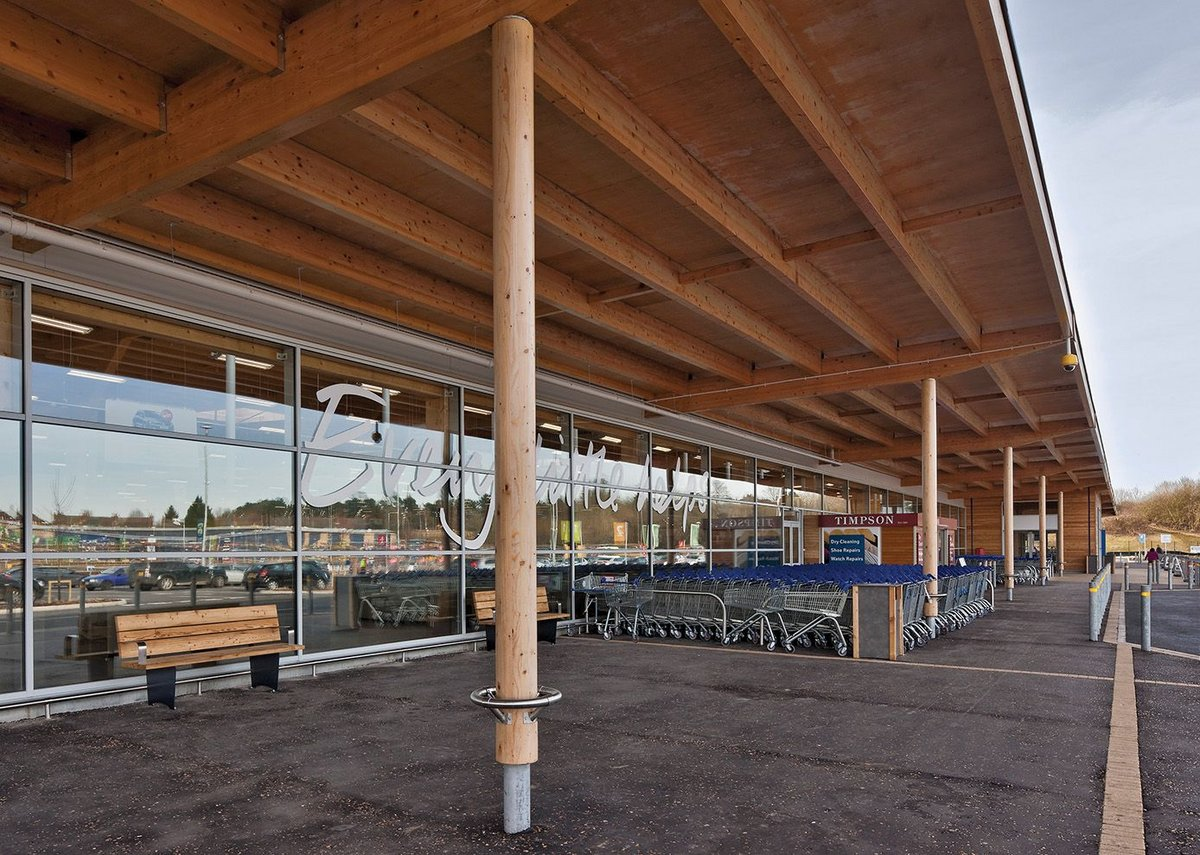 Tesco St James, Corby. Woods Hardwick.