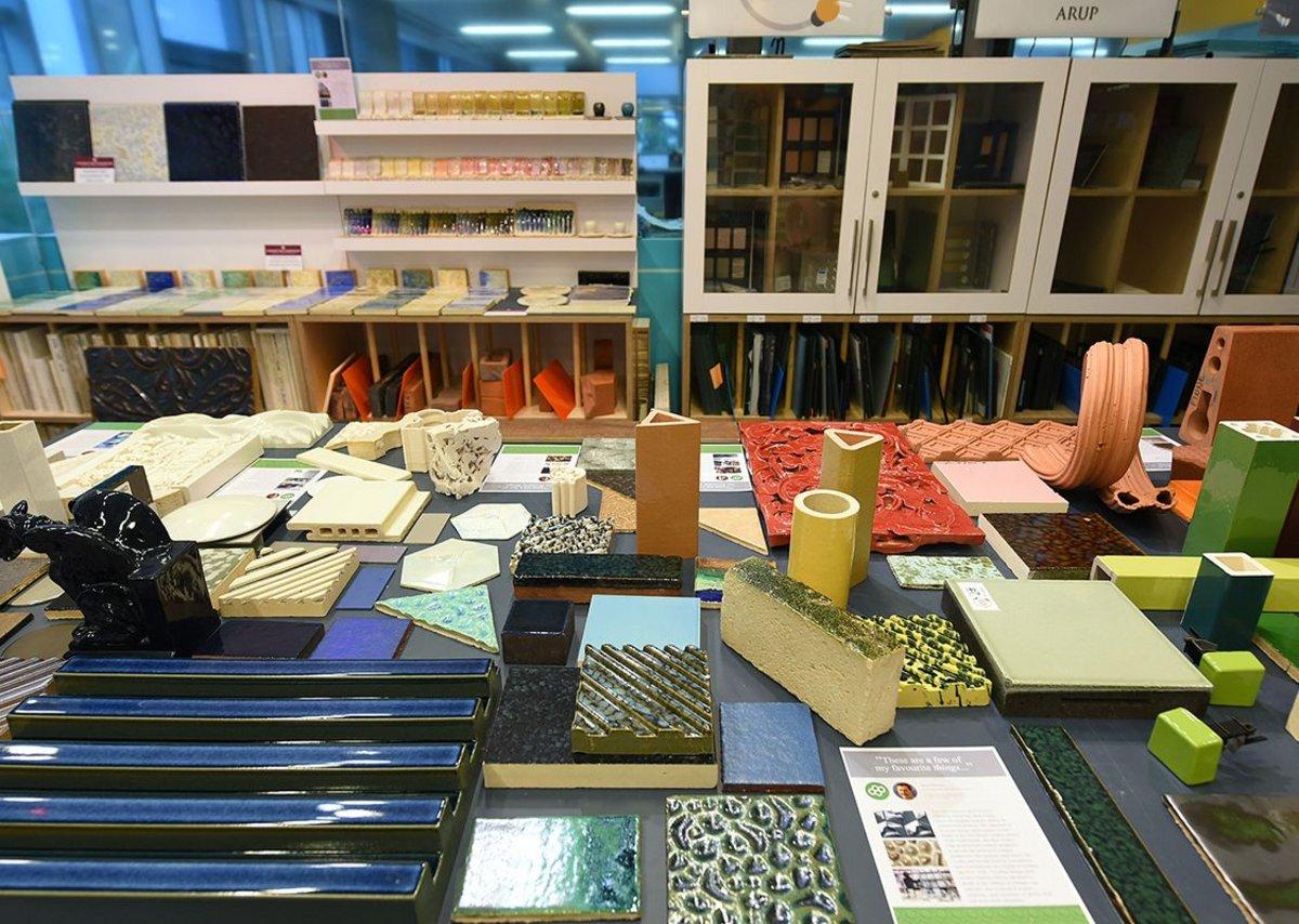 Arup's architectural ceramics collection