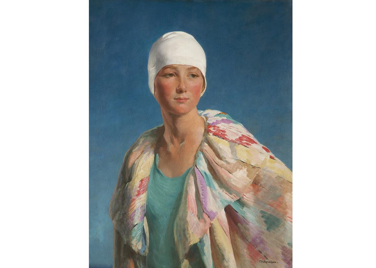 Summer, Thomas Martine Ronaldson, 1928. Oil on canvas.