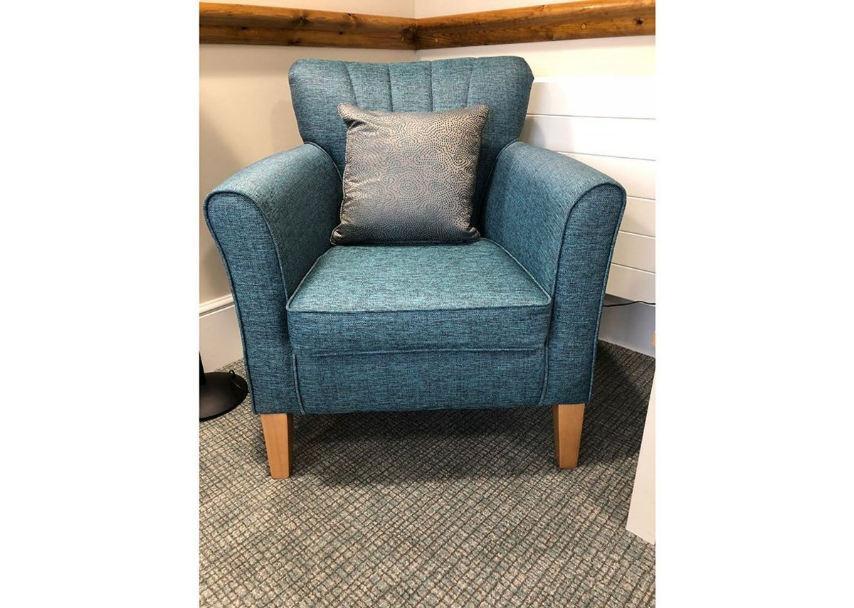 Manhattan 461 carpet from Danfloor's Evolution collection at Foxhunters Dormy Care Community, Abergavenny.