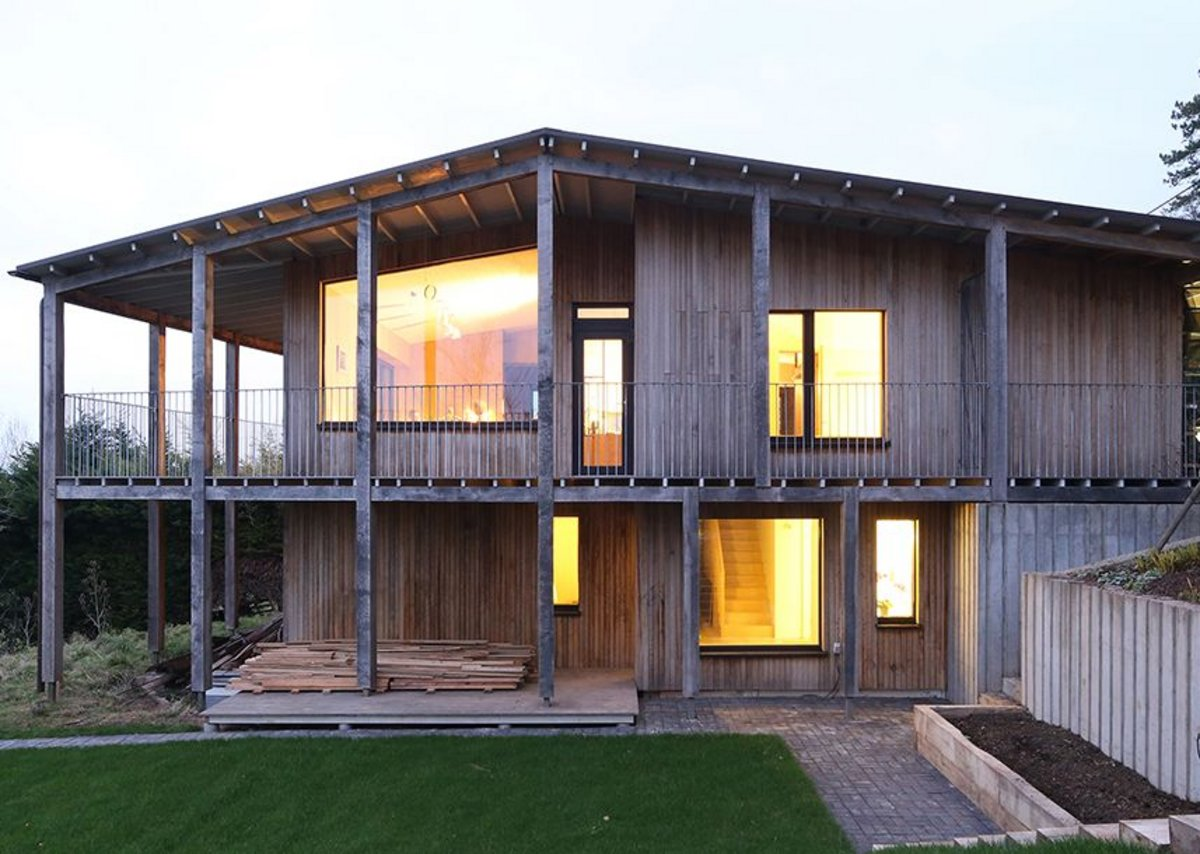 Dundon Passivhaus by Prewett Bizley Architects.