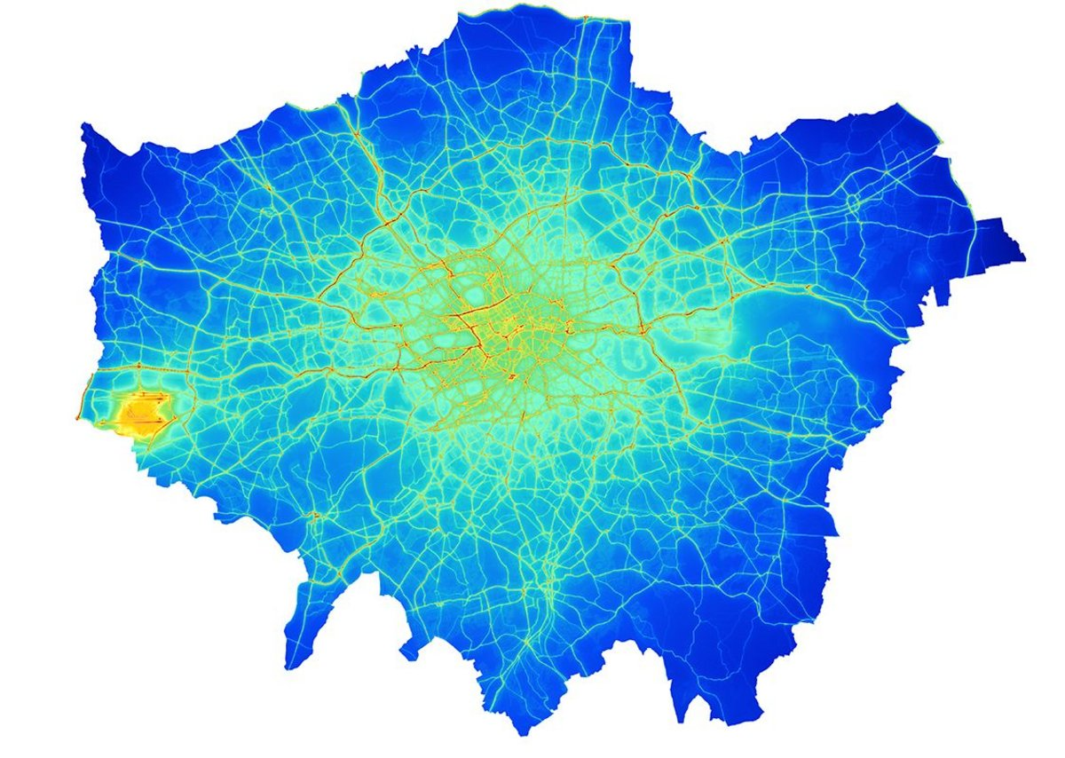 How London would breathe: 2020 NO2 with Ultra Low Emission Zone
