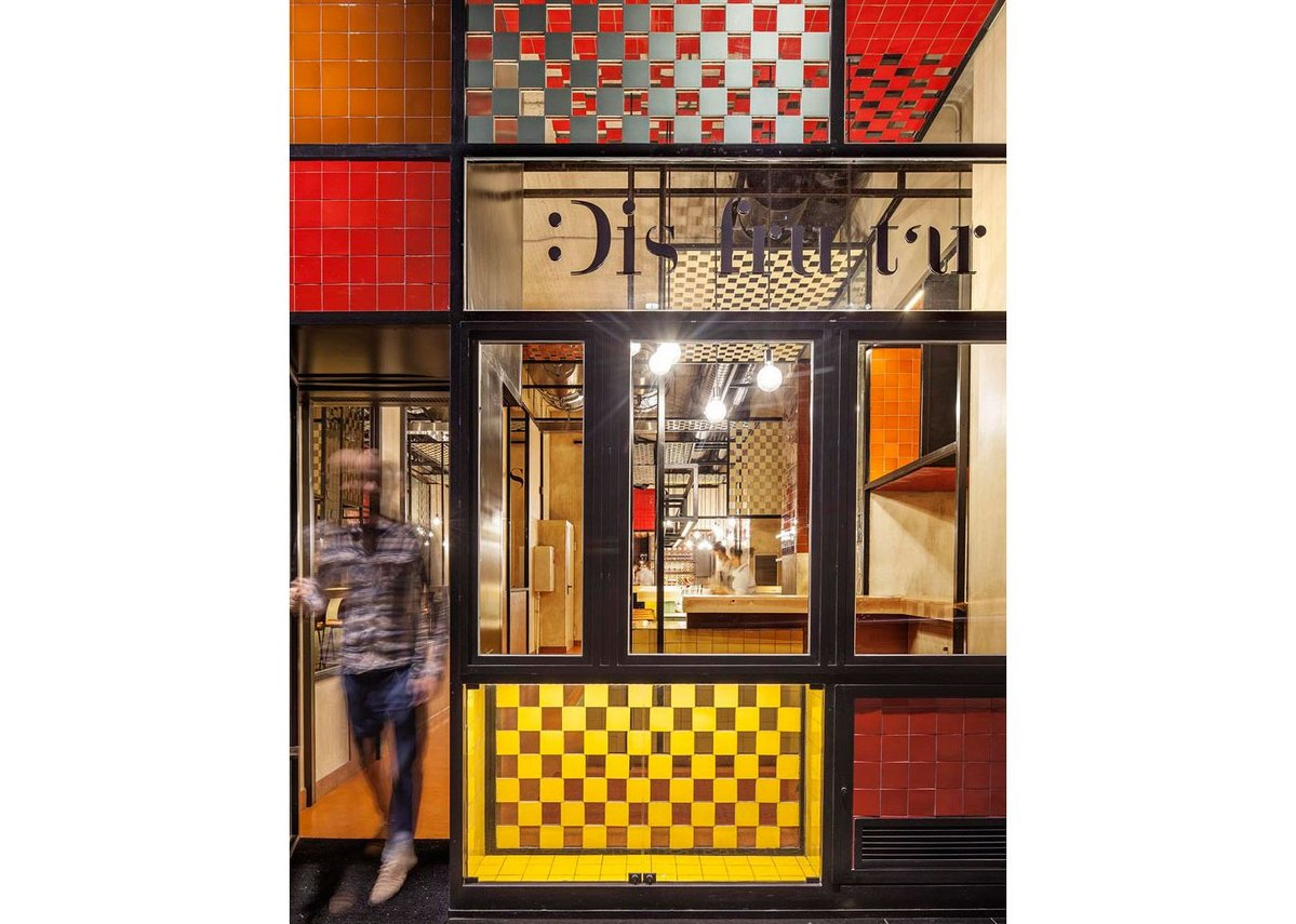 2015 Tile of Spain Awards – Special Mention: Disfrutar Restaurant by El Equipo Creativo