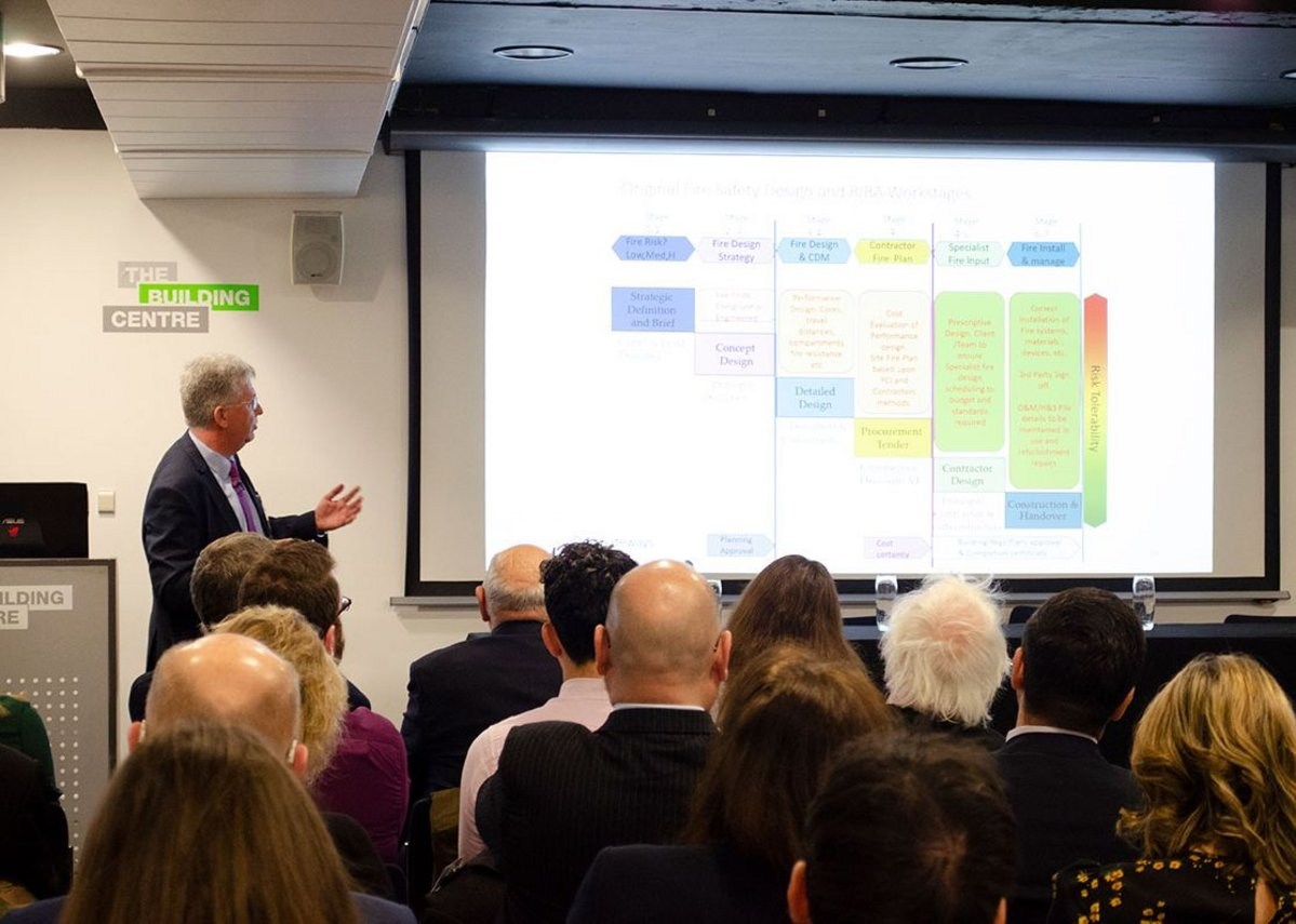 AHMM's Paul Bussey explains the proposed RIBA Plan of Work.