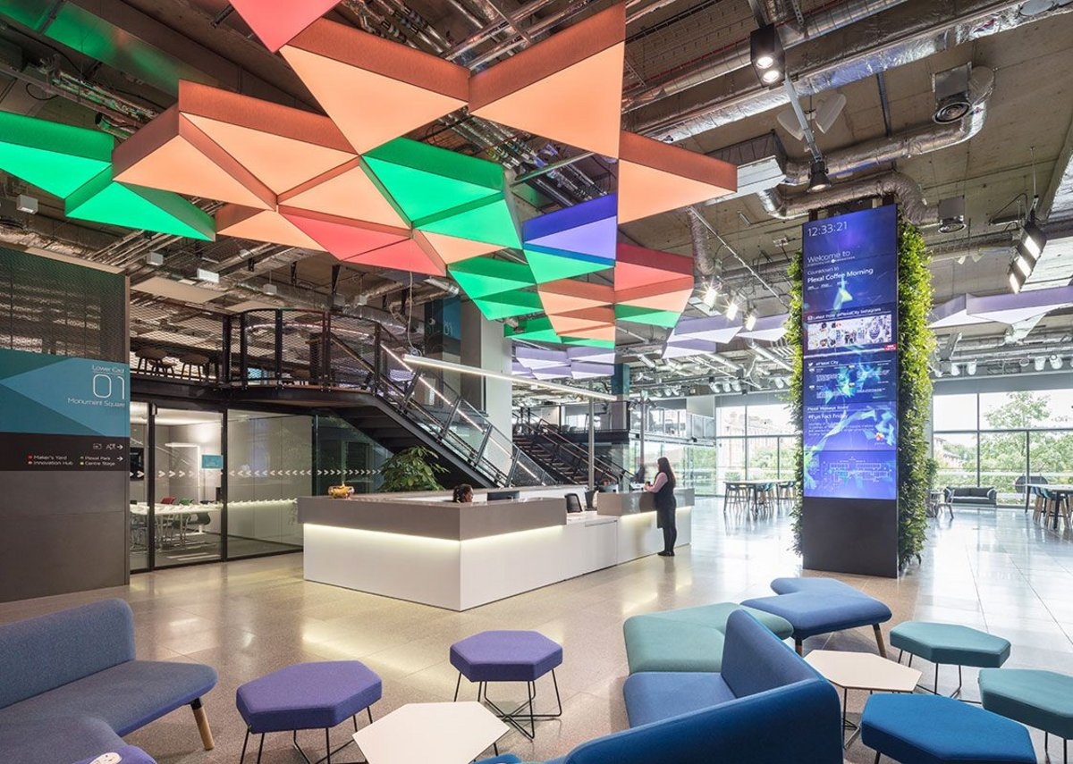 Grimshaw's Plexal Innovation Centre which Kennedy worked closely on.