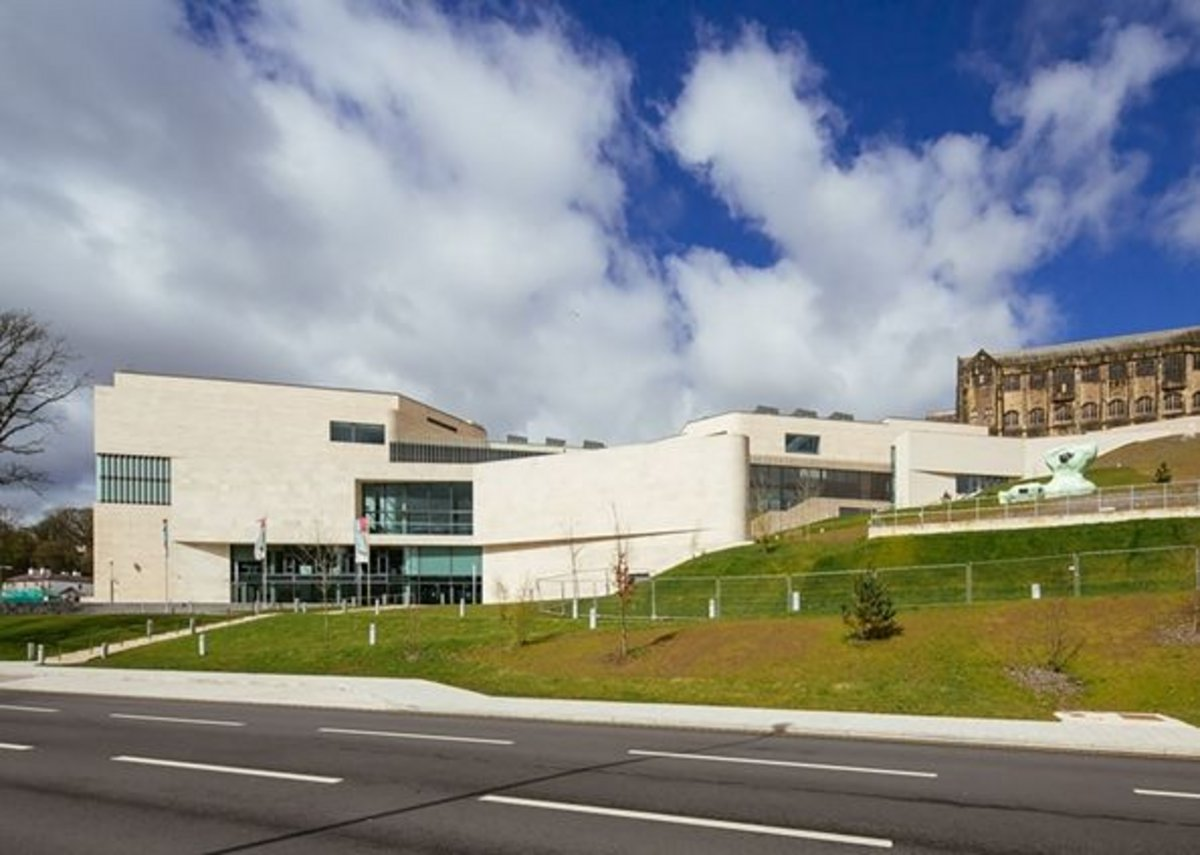 University of Bangor Arts and Innovation Centre.