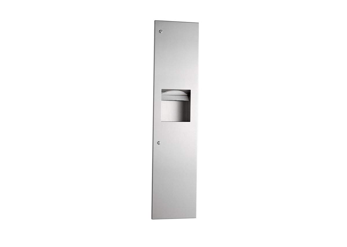 TrimLineSeries B-3803 paper towel dispenser and waste bin