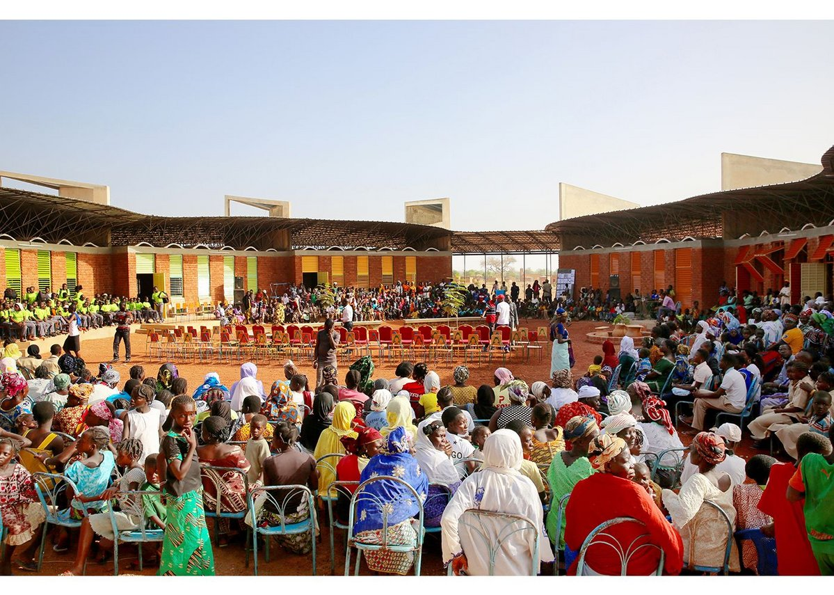 Lycée Schorge Secondary School in Koudougou, Burkina Faso, completed in 2016.