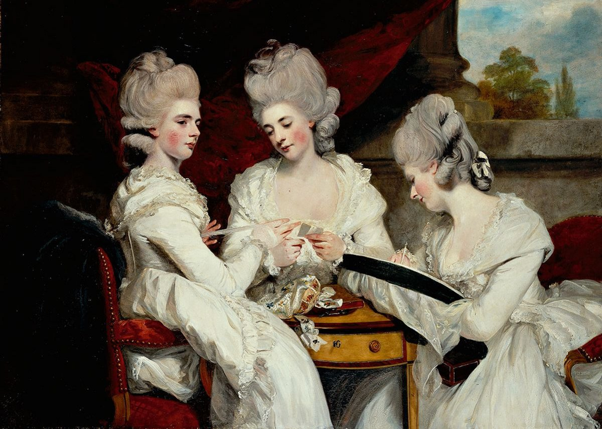Portrait of the Ladies Waldegrave – Joshua Reynolds, 1781. Painting purchased with the aid of the The Cowan Smith Bequest Art Fund 1952.