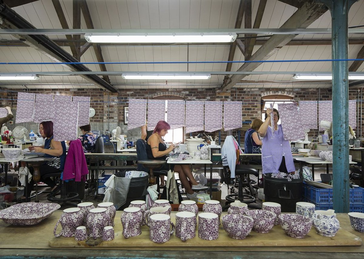 Middleport Pottery ­­­­­­­­­by Feilden Clegg Bradley Studios