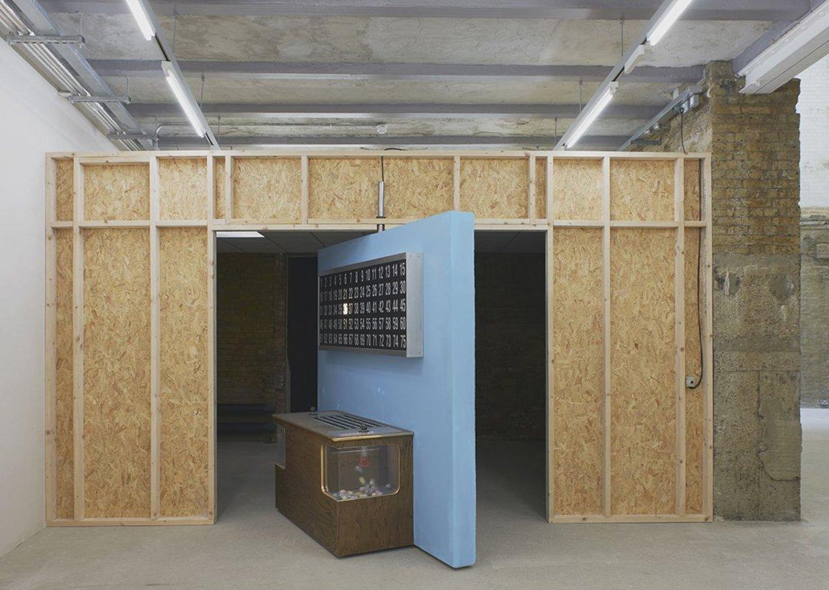 Installation view, Mika Rottenberg.