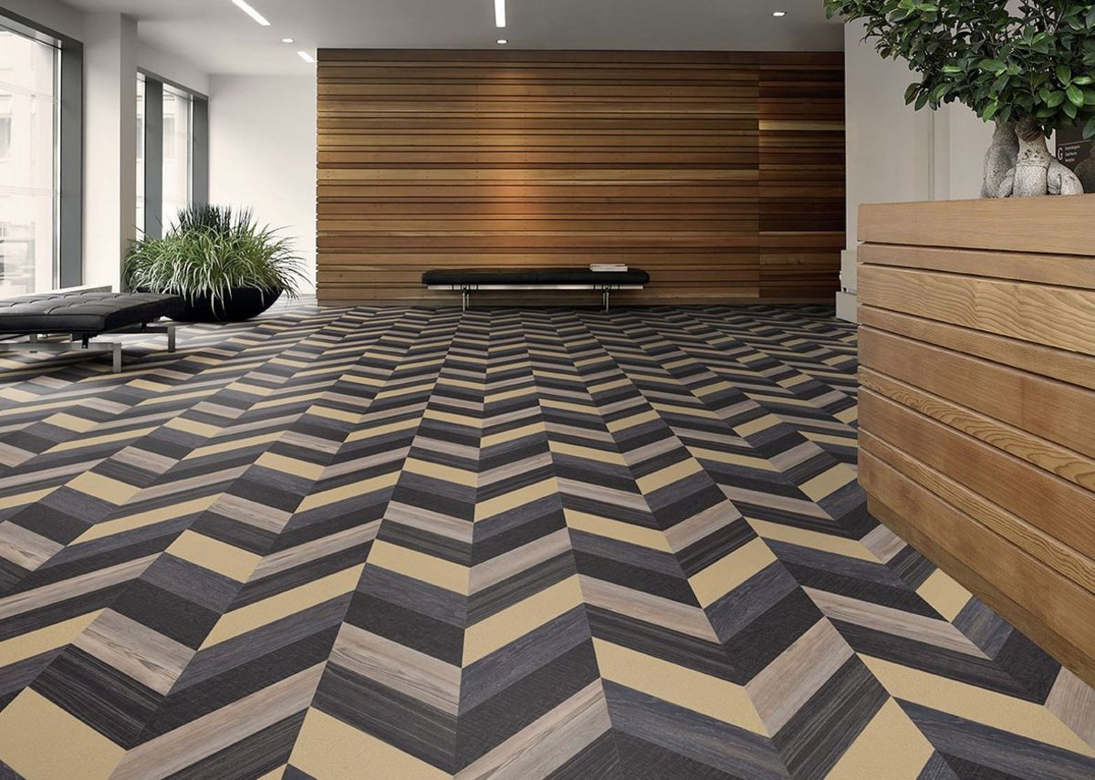 The new 'Vein' laying design from Amtico's new Architects' Choice collection