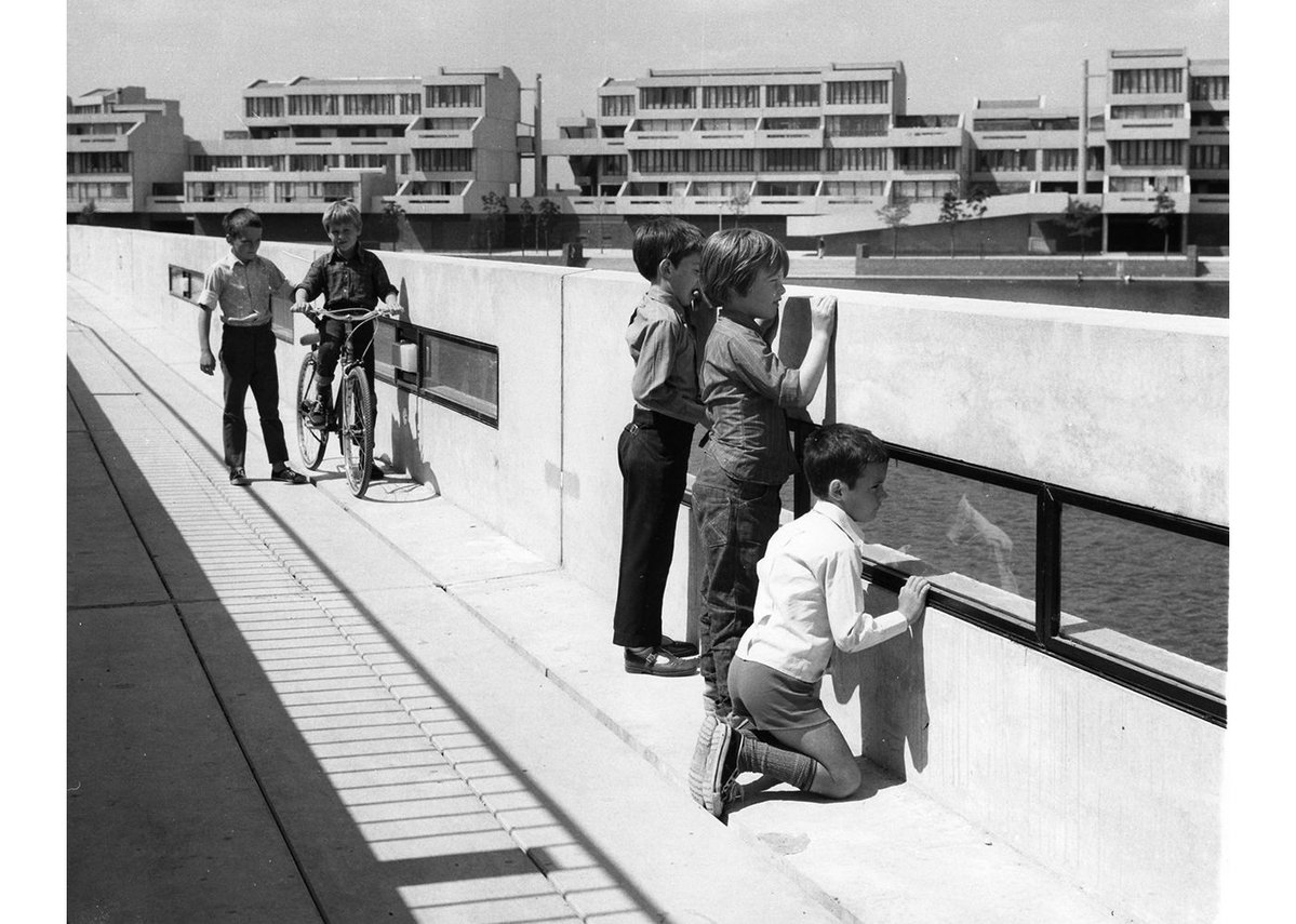 Thamesmead in the early 70s.