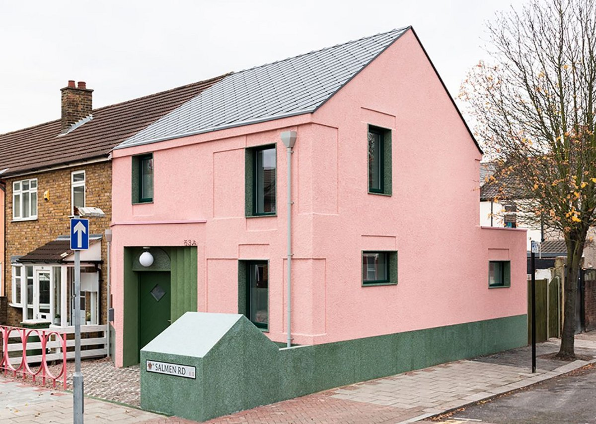 Salmen House, led by McEwen for Office S&M, explores colour in a new-build rental property